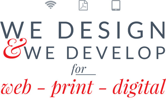 Design for web, print & digital